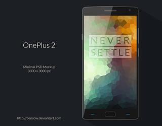 OnePlus 2 PSD Mockup by BenSow