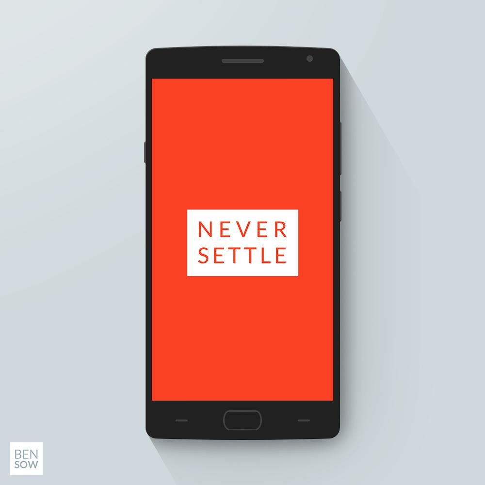 OnePlus 2 PSD Mockup V2