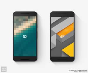 2015 Nexus PSD Template Mockups