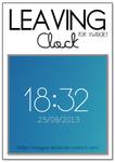 Leaveing clock Xwdiget.