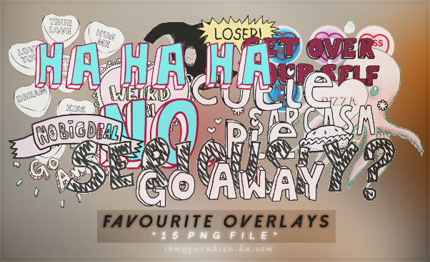 Favourite overlays -Fairxace by Inmyparadise