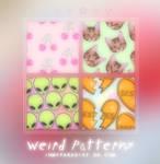 Weird patterns -stefxlaw
