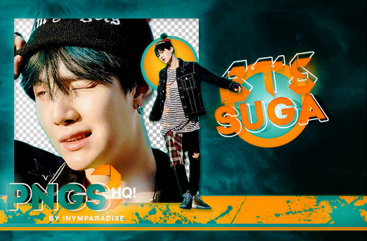 BTS Suga PNG PACK #1