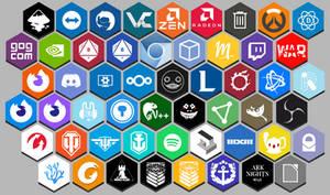 HoneyMiel Honeycomb Additionnal Icons