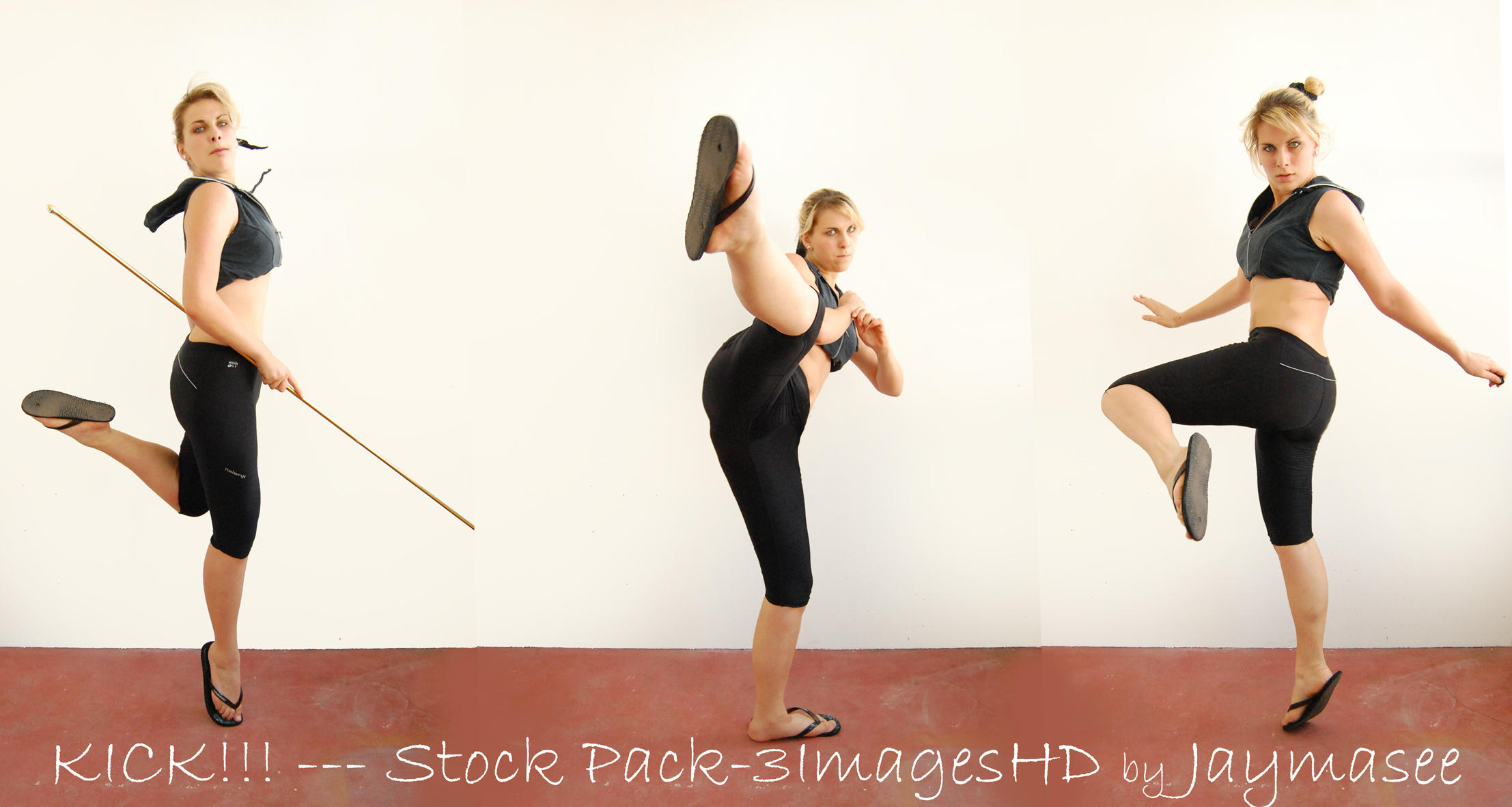 Action Pose Serie - Kick by Jaymasee
