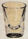 Shot Glass Cross Stitch Pattern by magentafreak