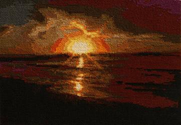Sunset Pattern by magentafreak