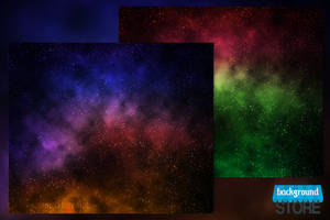 Space Nebula Background by BackgroundStore