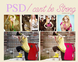 I cant be strong PSD by LiRvAmIcH