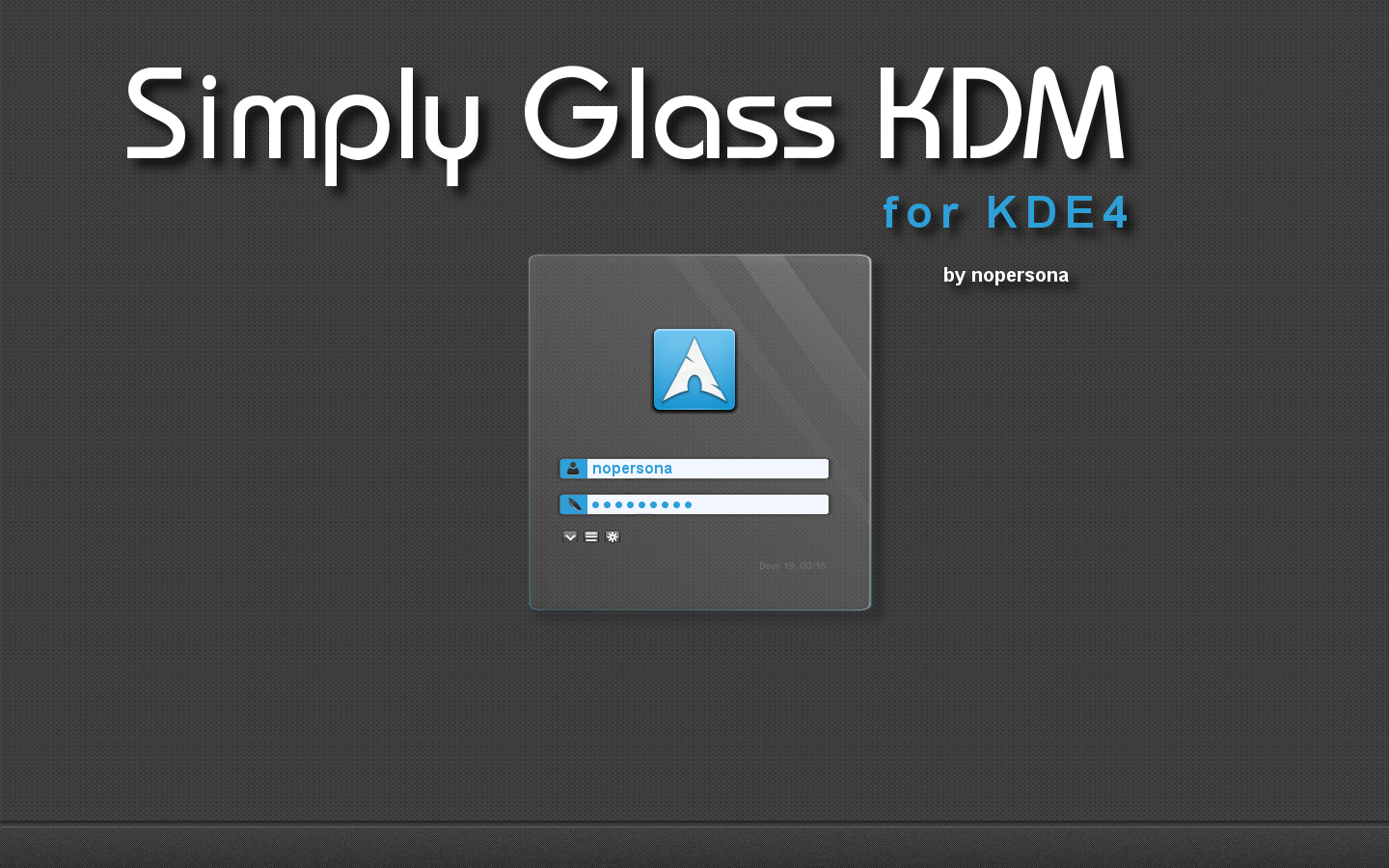 Simply Glass KDM by nopersona