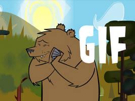 Cuidando al oso by Mortyn