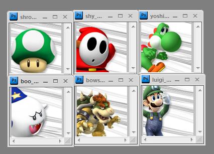 nintendo character avatars