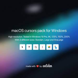 macOS cursors for Windows