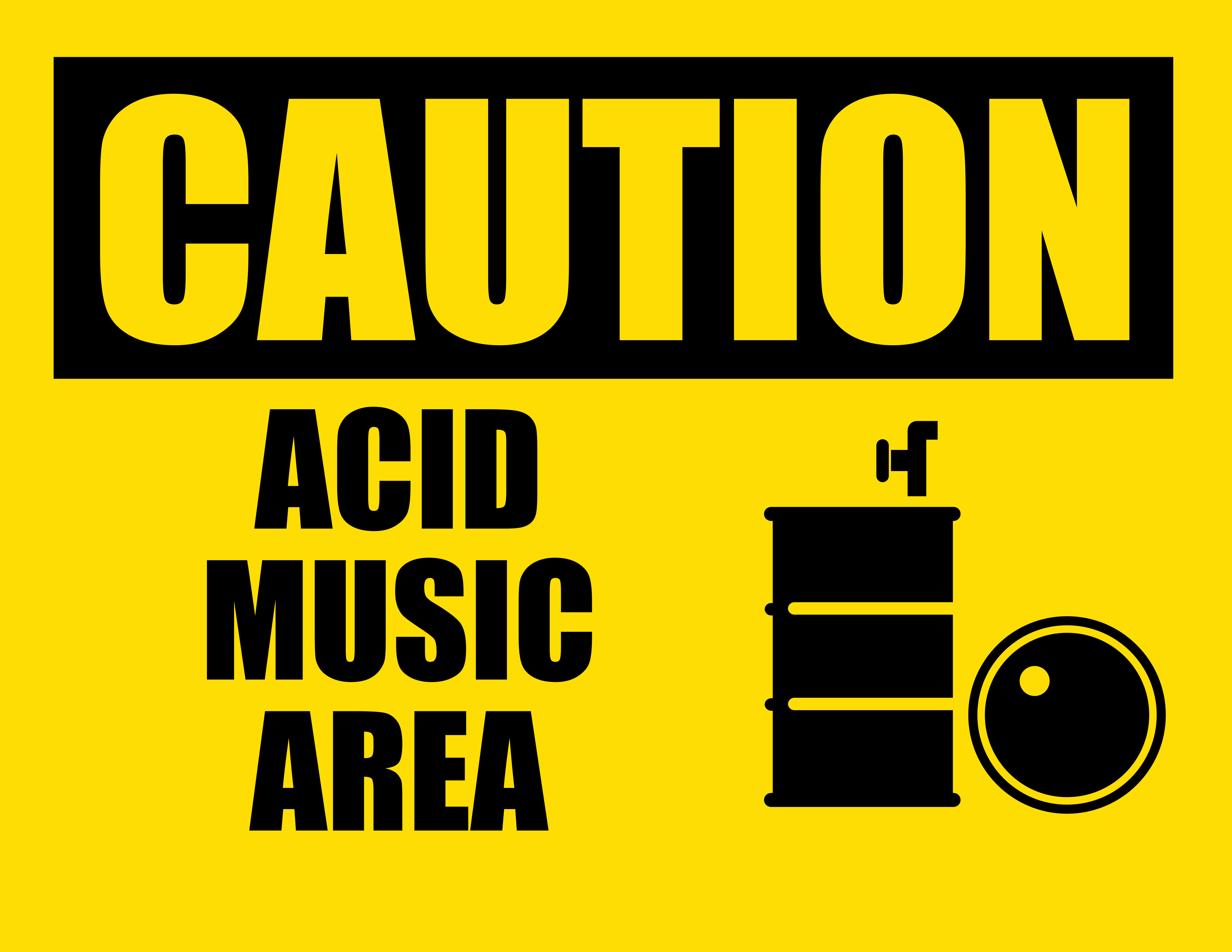 Caution acid music area by hakitocz on deviantart for Acid song 80s
