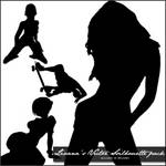 Vector Silhouette Brush Pack