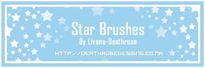 Star Brushes by LivanaStock