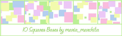 10 Misc Squares Icon Bases by maria-marchita