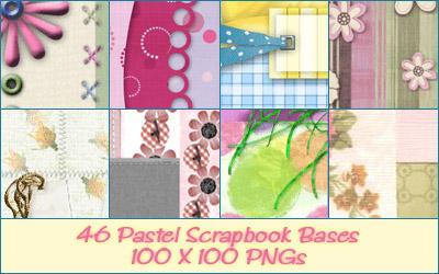 46 Pastel Icon Textures by maria-marchita