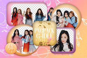 PNG PACK - G-idle #01 by HallyuDesign by HallyuDesign