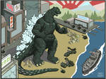 Godzilla - INTERACTIVE FLASH