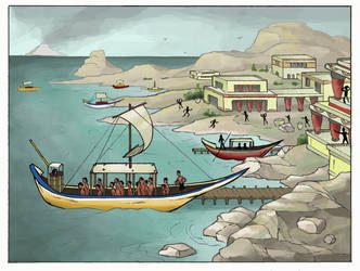 Demise of the Minoans - INTERACTIVE FLASH