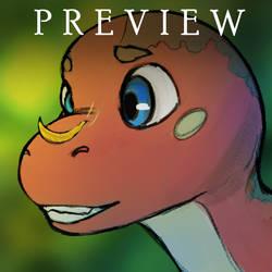 Moco the Dinosaur