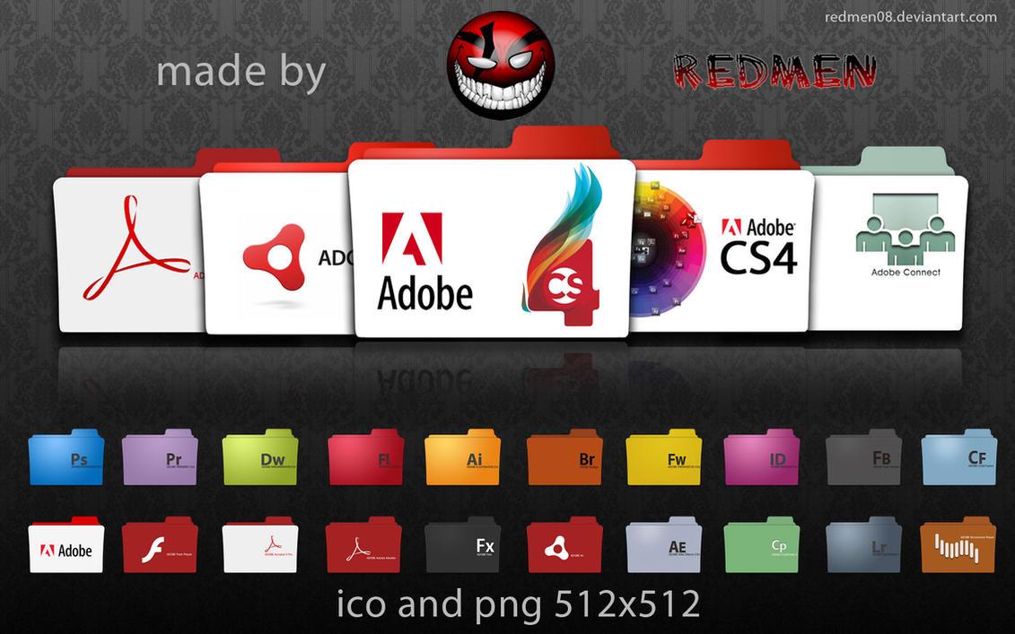 Adobe program ico by redmen08