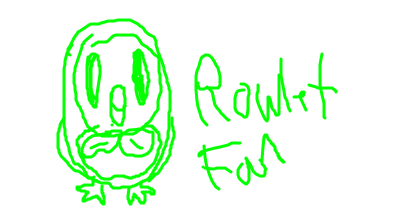 Rowlet Fan Icon by RoseCoral2017