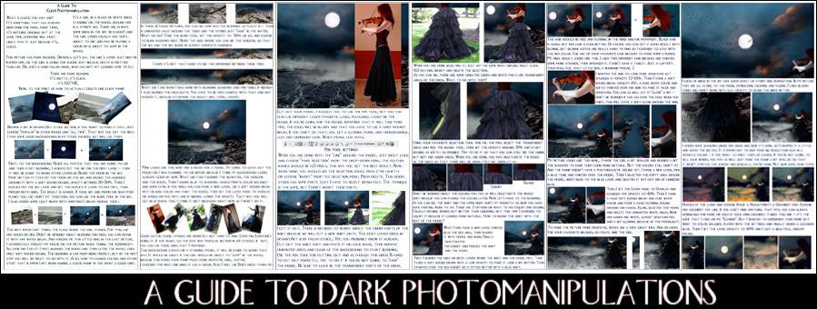 Guide To Dark Manipulations by Kechake