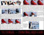 Red hair tutorial