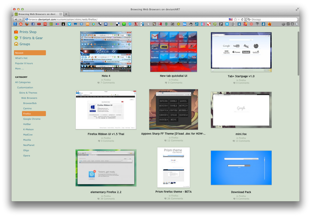 MOZILLA 10.5.8 OS X TÉLÉCHARGER MAC