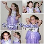 Purple Princess by MalunkeyDaStock
