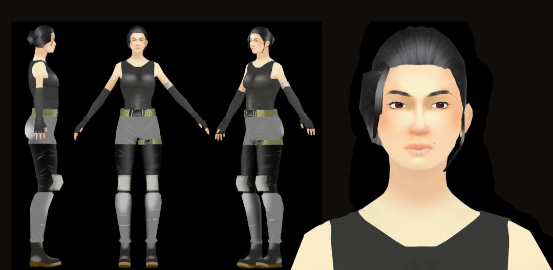 Soldier girl model sheet by FamilyTyRanT on DeviantArt