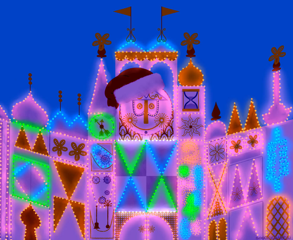 It's a Small World Holiday Edition [Gif]
