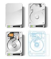 NX11 Hard Disks by MazeNL77