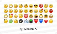 Mazes improved emoticons by MazeNL77