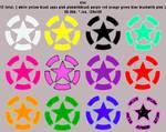 star 128x128 12icons