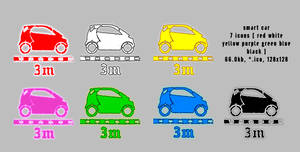 smart car 128x128 7icons