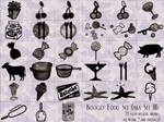 koogly food set -aka set 3-