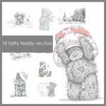 Tatty Teddy Vectors