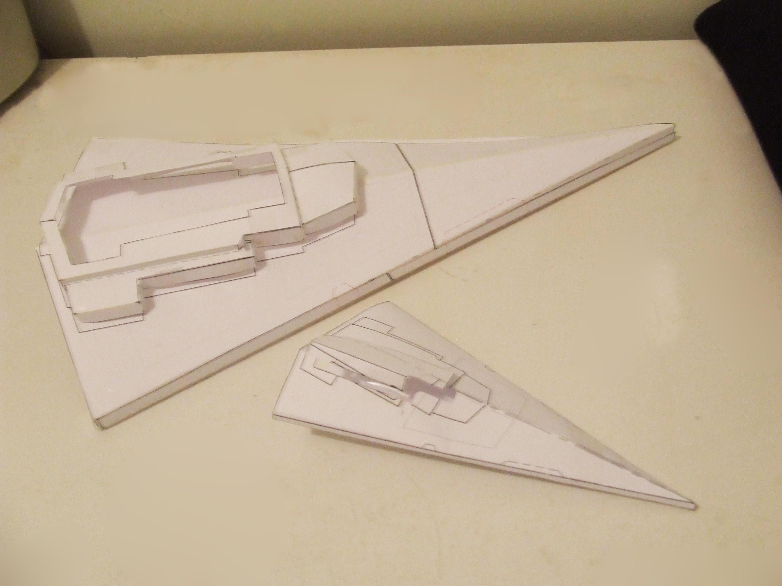 1:5000 Origami star destroyer by Affet-kak on DeviantArt - photo#25