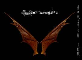 Demon Wings 3 by goRillA-iNK