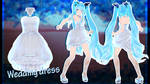 MMD AION - Wedding dress - [DL DOWNLOAD]