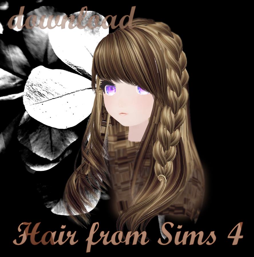 Mmd Sims 4 Hair 2 Download Dl By Milionna On Deviantart