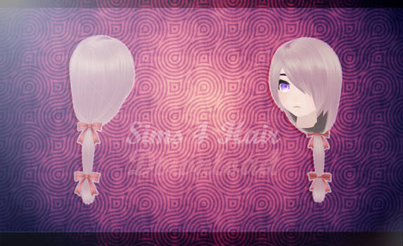 MMD SIMS 4 - Hair 3 - [DOWNLOAD][DL]