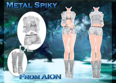 MMD AION - Metal Spiky - [DL]