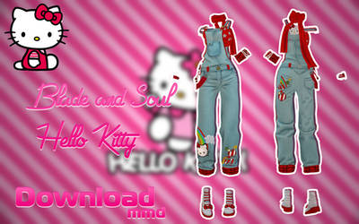 MMD BLADE AND SOUL - Hello Kitty - [DOWNLOAD][DL]