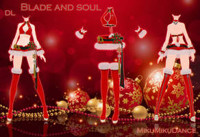 MMD BLADE AND SOUL - Christmas - [DOWNLOAD][DL] by Milionna