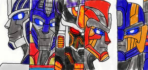 Transformers Universe: High Council of the Primes