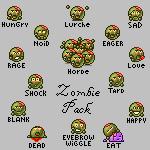 Emote Zombie Pack by SparklyDest